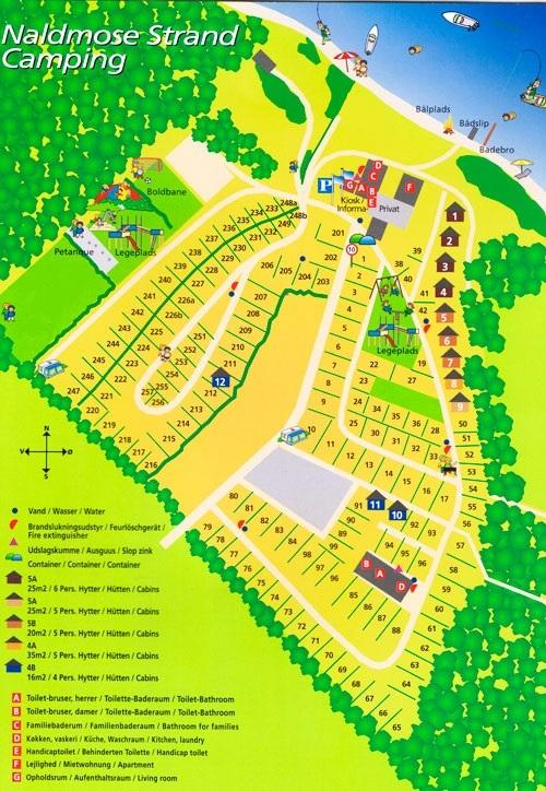 Naldmose-Karte