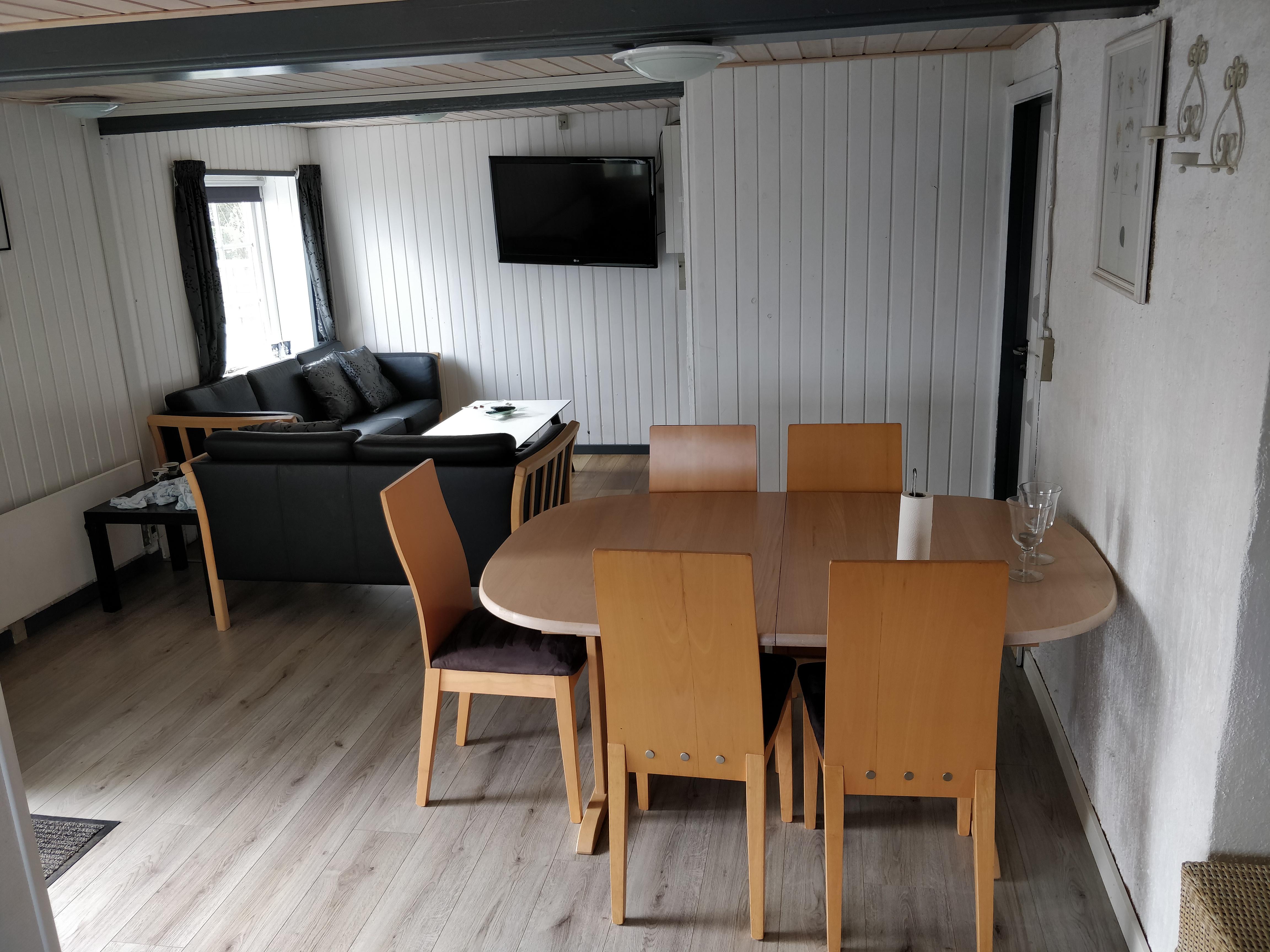 lejlighed spisestue - stue